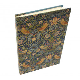 SKRIVBOK WILLIAM MORRIS STRAWBERRY THIEF A5