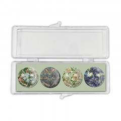 Glasmagneter William Morris Set