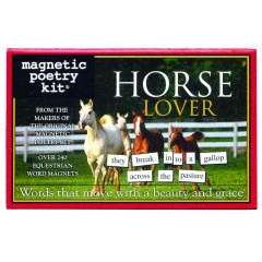 Magnetic Poetry - Horse Lover