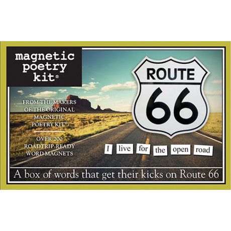 Magnetic Poetry - Route 66