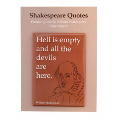 MAGNET SHAKESPEARE HELL IS