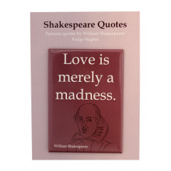 MAGNET SHAKESPEARE LOVE IS