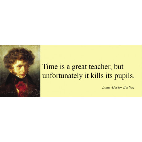 Magnet/Time is a great teacher