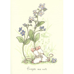 DUBBELKORT FORGET ME NOT