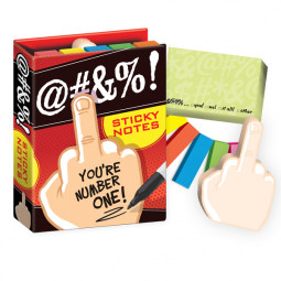 Sticky notes Fingret (@#$%)