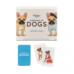 Memoryspel Dress Up Dogs
