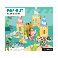 Pop Out-Figurer Sjöjungfru
