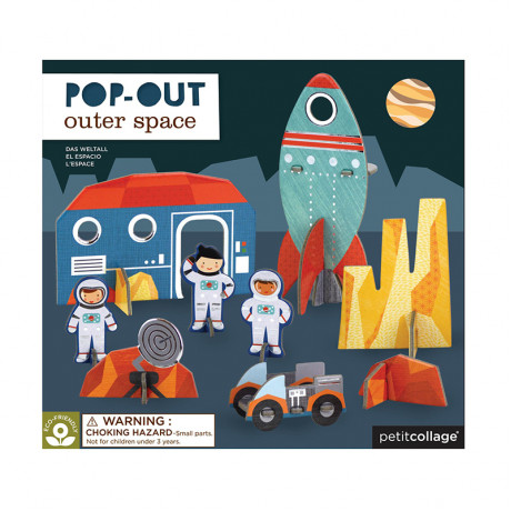 Pop Out-Figurer Rymden