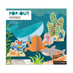 Pop Out-Figurer Havet