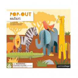 Pop Out-Figurer Safari