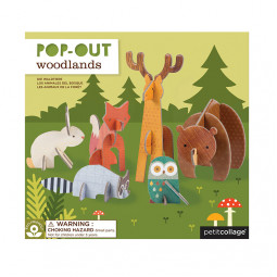 Pop Out-Figurer Skogen